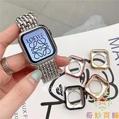 apple watch防摔表殼全包蘋果手表iwatch5保護套電鍍【奇妙商鋪】