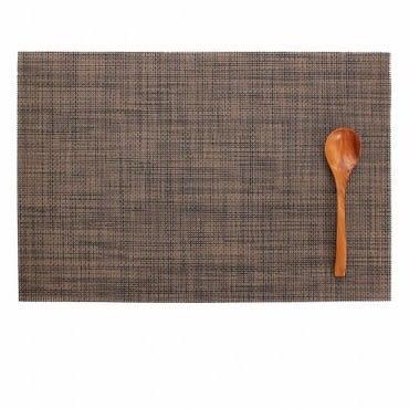 LOVEL 歐美風手作編織感餐墊 卡布奇諾(1入組)