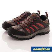 【GOODYEAR】男款郊山徒步戶外鞋-GAMO73503-咖紅-男段-現貨