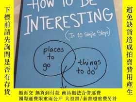 二手書博民逛書店其實你也可以很有趣罕見英文原版 How to Be Interesting Jessica Hagy 潔西卡哈吉