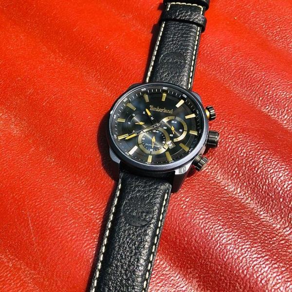 Timberland 天柏嵐二地時區日曆手錶-44mm TBL.16002JLAU/05
