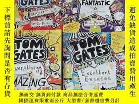 二手書博民逛書店TOM罕見GATES:THE Brilliant World of Excellent Excuses and o