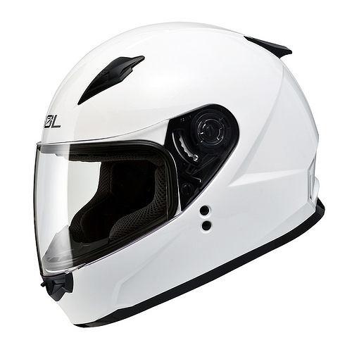 【SOL SF2 SF-2 白 素色款 全罩 安全帽 】兒童 女生 小帽款