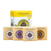 L Occitane 歐舒丹 Shea Butter 4 件乳木果護膚皂組合1set,4pcs ~