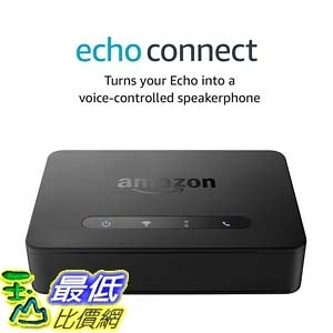 [7美國直購] Amazon Echo Connect requires compatible Alexa-enabled device and home phone service