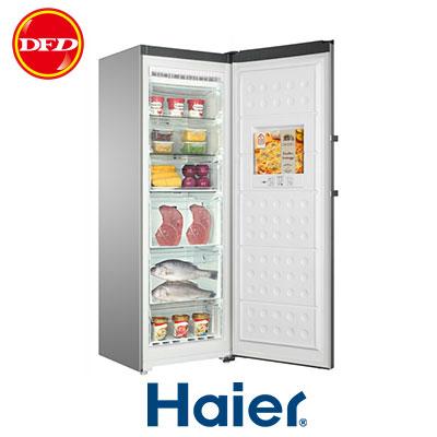 HAIER 海爾 6尺2 直立單門無霜冷凍櫃 HUF-300 時尚外觀附加LED智能控制面板 ※運費另計(需加購)