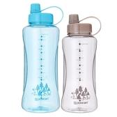 powcan大容量太空杯運動水瓶戶外水杯便攜塑料杯子大碼水壺2000ml