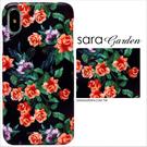 客製化 iPhoneX手機殼 多型號製作 質感玫瑰花
