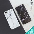 手機殼 簡約黑白大理石紋IPhone保護...