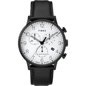 TIMEX 天美時 (TXTW2R72300) Waterbury 三眼 計時 冷光 男錶/40mm