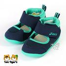 ASICS 亞瑟士 AMPHIBIAN FIRST 2 藍綠 高筒 兒童涼鞋 寶寶鞋 NO.R3979