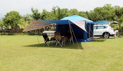 丹大戶外【Camping Ace】 野樂 EZ梯形天幕帳 EZ-633-2 延伸天幕│炊事帳│帳篷│戶外│露營