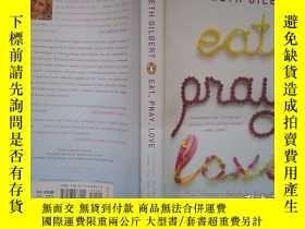 二手書博民逛書店Eat,罕見Pray, Love: One Woman s Se