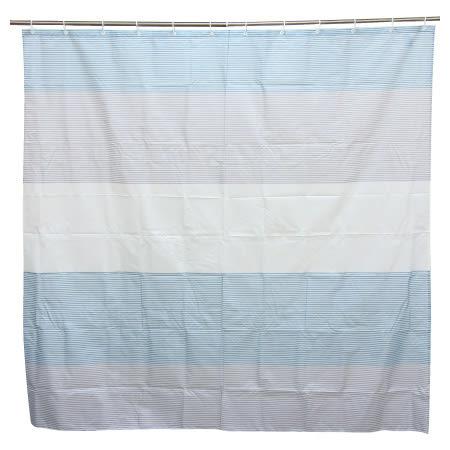 浴簾BORDER TBL 180×180 NITORI宜得利家居