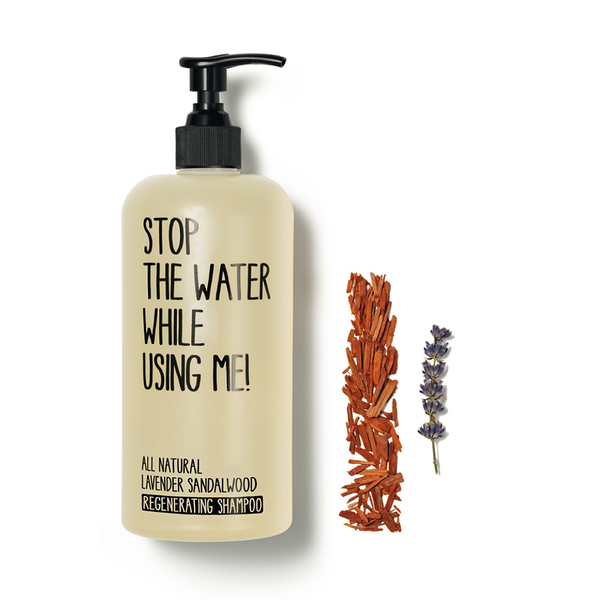 Stop the water while using me! 薰衣草檀香賦活洗髮精500ml