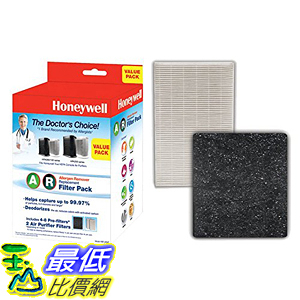 [美國直購] Honeywell HRF-ARVP 濾網 True HEPA Filter Value Combo Pack (2 HEPA filters and 1 Pre-filter)
