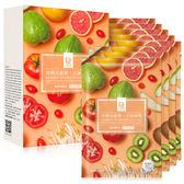Dr.Hsieh達特醫 亮顏五蔬果元氣面膜8片/盒 ◆86小舖 ◆