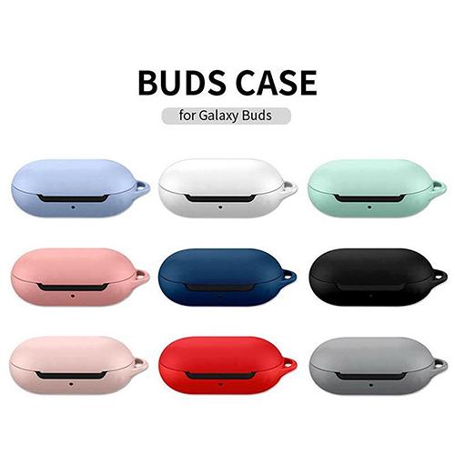 Galaxy Buds 保護殼│素色系列│含環扣│硬殼 保護套│z8939