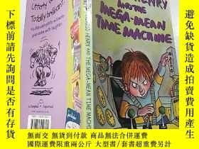 二手書博民逛書店horrid罕見henry and the mega mean time machine:可怕的亨利和超級平均時間