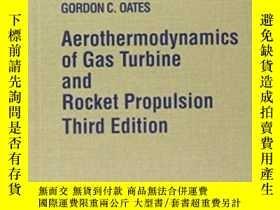二手書博民逛書店Aerothermodynamics罕見Of Gas Turbine And Rocket Propulsion奇