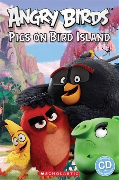Scholastic Popcorn Readers Starter Level:Angry Birds: Pigs on Bird Islan..