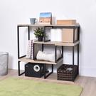 書櫃 收納櫃 可推疊層架 書架 電視櫃架 凱堡 工業風 L型活動置物架 2入組【P16044】