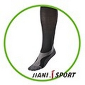 [JIANI SPORT]協會指定COOLMAX MST檢驗款專業慢跑襪/JS03/黑色/登山/慢跑/超馬/自行車/三鐵/球類運動