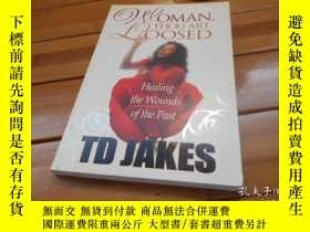 二手書博民逛書店WOMAN罕見, THOU ART LOOSED: HEALIN