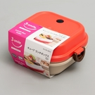 日本製【Pearl】攜帶三明治.漢堡盒 R /HB-4805