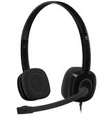 【現貨】羅技 Logitech H151 立體聲耳機麥克風 [富廉網]