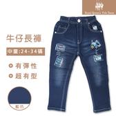 挖土機圖案牛仔褲 長褲[1987-8]RQ POLO 秋冬 童裝 中大童 24-34碼 現貨