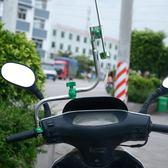 自行車撐傘架電動車不銹鋼遮陽傘架電瓶車加厚雨傘支架     琉璃美衣