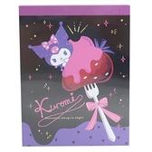 小禮堂 酷洛米 日本製 迷你便條本 (紫草莓款) 4964694-40028