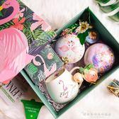 玫瑰花茶禮盒 火烈鳥杯伴手禮 生日禮物女生 畢業禮物送老師『韓女王』