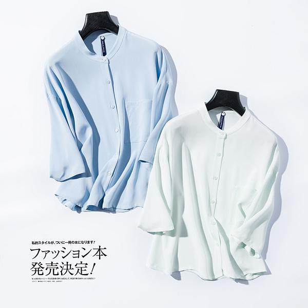 [超豐國際]CM706542 純色調~30姆米砂洗重磅真絲