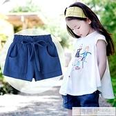 女童短褲2020新款夏季薄款沙灘外穿褲子中大童白色夏褲女寶寶熱褲 夏季新品