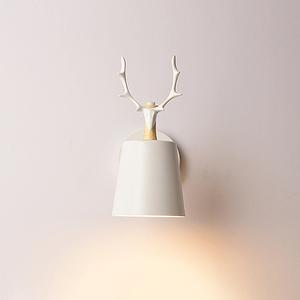 HONEY COMB  歐式麋鹿壁燈 白 TA8731