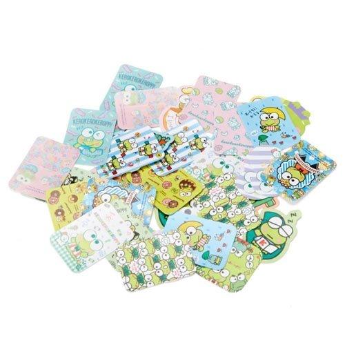 【震撼精品百貨】KeroKeroKeroppi 大眼蛙~Sanrio 大眼蛙散裝貼紙組附收納盒(40枚入)#87537