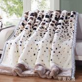 毛毯雙層加厚冬季被子雙人珊瑚絨毯子卡通單人學生宿舍蓋毯   芊惠衣屋igo