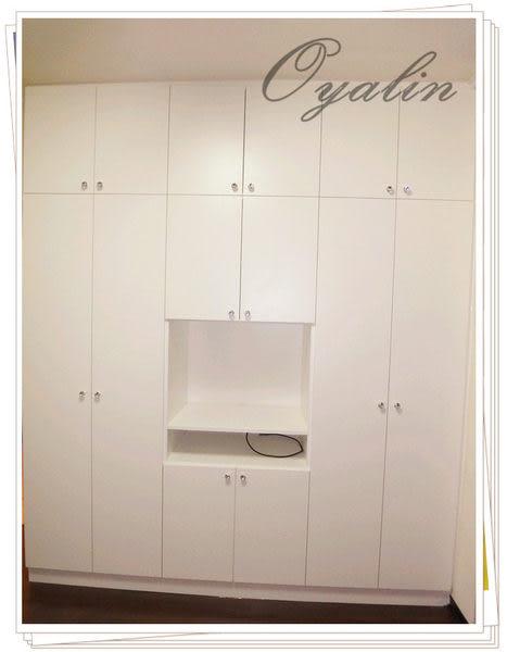 【歐雅系統家具】系統櫃 系統衣櫃&電視收納櫃 EGGER E1-V313防潮塑合板 系統櫃工廠