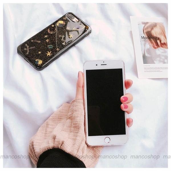 宇宙繁星 OPPO A72 A31 A9 A5 2020 透明手機殼 閃粉星空 土星月球 保護殼保護套 矽膠軟殼