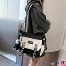 熱賣側背包 包日系男側背包機能工裝差街頭潮流2021包包港酷【618 狂歡】