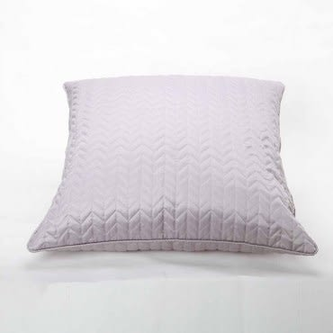 HOLA 綵語抱枕60x60cm 菱紋銀