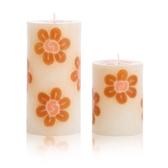 飛舞朵朵-檀香木香氛手工蠟燭組