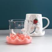 新款杯蓋食品級環保硅膠卡通杯蓋積雪杯蓋馬克杯蓋水杯蓋子茶杯蓋 四季生活