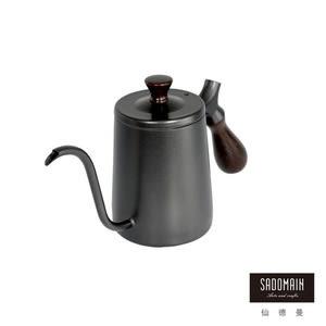 【仙德曼 SADOMAIN】316咖啡細口壺(霧黑)350ml