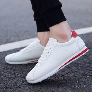 2017新款男鞋子運動小白鞋男板鞋PLL860【男人與流行】