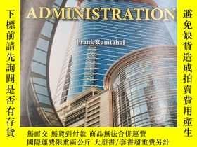 二手書博民逛書店office罕見administration 辦公室管理Y191