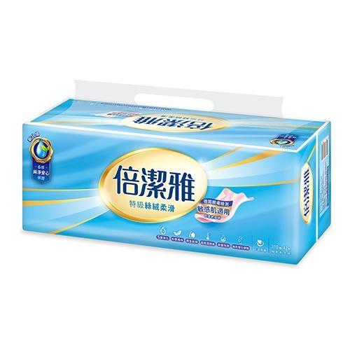 倍潔雅特級抽取式衛生紙110抽12包【愛買】