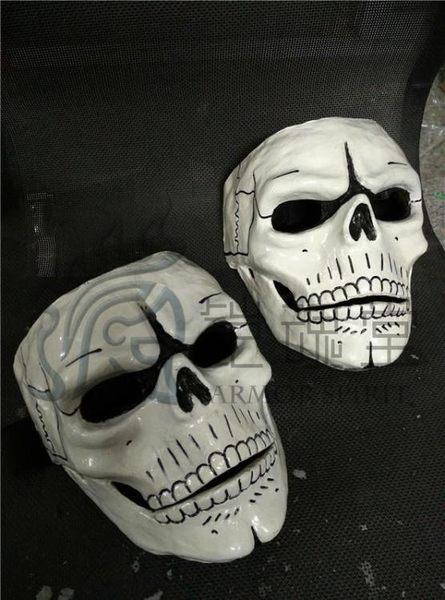 電影007幽靈黨面具骷髏臉頭盔cosplay道具定制
